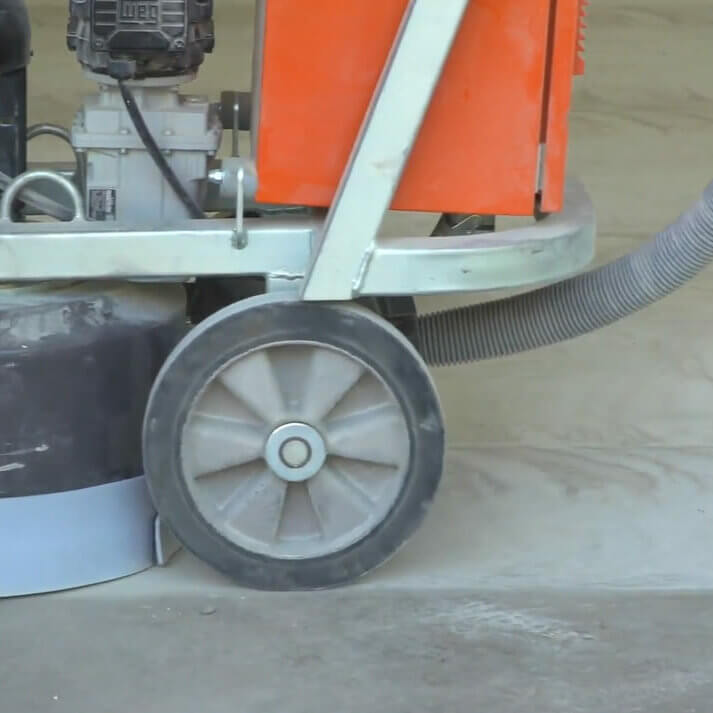 surface grinind concrete